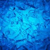De achtergrond van ijsblokjes Stock Afbeeldingen