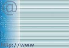 De achtergrond van Internet Stock Illustratie