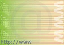 De achtergrond van Internet Stock Foto's