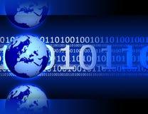 De achtergrond van Internet Royalty-vrije Stock Afbeelding