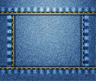 De achtergrond van jeans stock illustratie