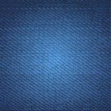 De achtergrond van jeans Royalty-vrije Illustratie
