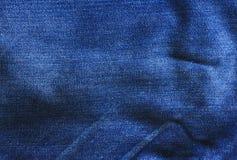 De achtergrond van jeans Stock Foto's