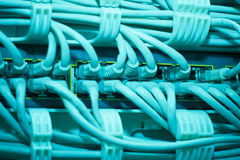 De achtergrond van kabels Royalty-vrije Stock Fotografie