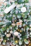 De Achtergrond van de kerstboom Royalty-vrije Stock Fotografie