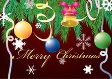 De achtergrond van Kerstmis. Royalty-vrije Stock Afbeeldingen