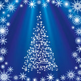 De achtergrond van Kerstmis. Royalty-vrije Stock Foto