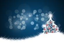 De achtergrond van Kerstmis. Stock Foto's