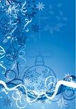 De achtergrond van Kerstmis,   stock illustratie
