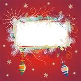 De achtergrond van Kerstmis Stock Fotografie