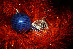 De achtergrond van Kerstmis Stock Foto