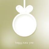 De achtergrond van Kerstmis applique. + EPS8 Royalty-vrije Stock Afbeeldingen
