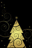 De achtergrond van Kerstmis en van het Nieuwjaar Stock Afbeeldingen