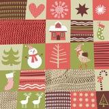 De achtergrond van Kerstmis en van het Nieuwjaar Royalty-vrije Stock Fotografie