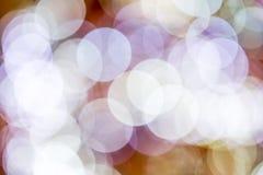 De achtergrond van Kerstmis Feestelijke abstracte achtergrond met bokeh def Royalty-vrije Stock Fotografie