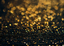 De achtergrond van Kerstmis Feestelijke abstracte achtergrond met bokeh def Stock Foto