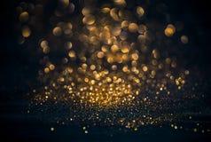 De achtergrond van Kerstmis Feestelijke abstracte achtergrond met bokeh def Royalty-vrije Stock Foto