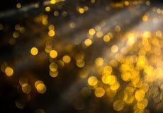 De achtergrond van Kerstmis Feestelijke abstracte achtergrond met bokeh def Stock Afbeelding