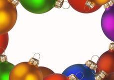 De achtergrond van Kerstmis - frame Stock Foto