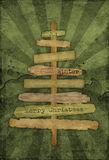 De achtergrond van Kerstmis grunge Royalty-vrije Stock Foto