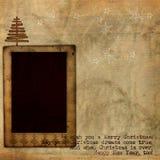De achtergrond van Kerstmis grunge Stock Afbeelding