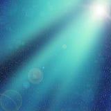 De achtergrond van Kerstmis Licht van de sterren bij nacht seizoen Boke Royalty-vrije Stock Fotografie