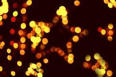 De achtergrond van Kerstmis met een ster Stock Foto's