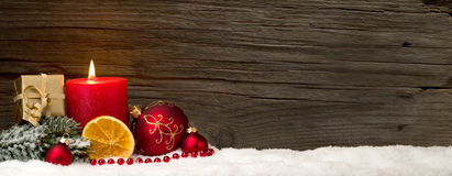 De achtergrond van Kerstmis met exemplaarruimte Stock Afbeeldingen