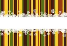 De achtergrond van Kerstmis met lijnen Royalty-vrije Stock Afbeeldingen