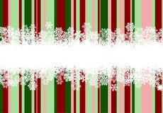 De achtergrond van Kerstmis met lijnen Royalty-vrije Stock Afbeelding