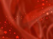 De achtergrond van Kerstmis met sterren Royalty-vrije Stock Foto's