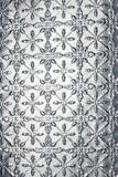De Achtergrond van Kerstmis van de Sneeuwvlok van het metaal Stock Afbeelding