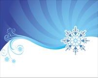 De achtergrond van Kerstmis van de winter Stock Afbeeldingen