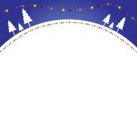 De achtergrond van Kerstmis van de winter Royalty-vrije Stock Afbeelding