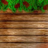 De achtergrond van Kerstmis van de winter Royalty-vrije Stock Foto