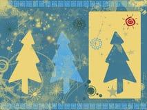 De achtergrond van Kerstmis van Grunge royalty-vrije illustratie