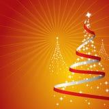 De Achtergrond van Kerstmis (Vector) Stock Afbeelding