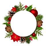 De achtergrond van Kerstmis Vector eps-10 Stock Foto