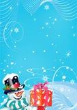 De achtergrond van Kerstmis voor uw ontwerp Royalty-vrije Stock Foto's
