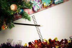 De achtergrond van Kerstmis voor uw ontwerp wijnoogst Royalty-vrije Stock Foto