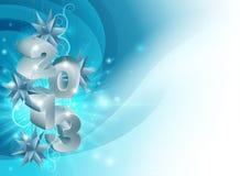 De Achtergrond van Kerstmisdecoratie 2013 royalty-vrije illustratie