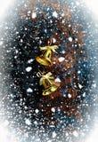 De achtergrond van Kerstmisklokken Royalty-vrije Stock Afbeelding