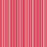 De achtergrond van Kerstmislijnen, rood roze oranje en wit strepen vector naadloos patroon Royalty-vrije Stock Afbeeldingen