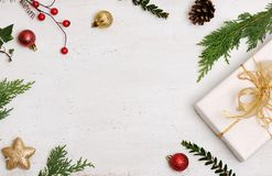 De achtergrond van Kerstmispunten Stock Afbeeldingen