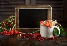 De achtergrond van de Kerstmisvakantie Royalty-vrije Stock Foto's