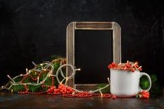 De achtergrond van de Kerstmisvakantie Stock Afbeelding