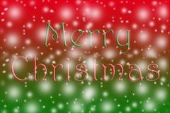 De achtergrond van de Kerstmisvakantie met exemplaarruimte voor uw tekst vector illustratie
