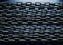 De achtergrond van kettingen Stock Fotografie