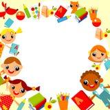 De achtergrond van kinderen Royalty-vrije Stock Afbeelding
