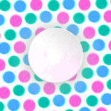 De achtergrond van kleurencirkels Royalty-vrije Stock Foto